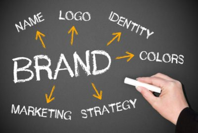 Branding with Elements related to branding